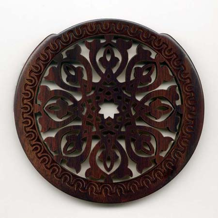 01 rosewood with gothic rosette