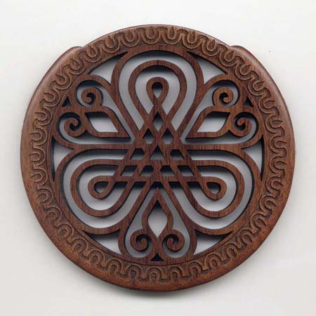 02 walnut with gothic rosette
