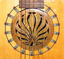 15 walnut lute hole